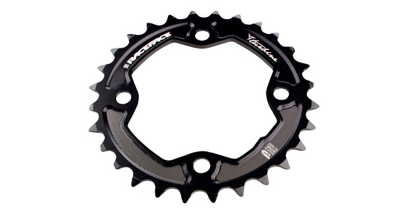 Race Face Turbine Chainring 64 BCD 11 Speed schwarz